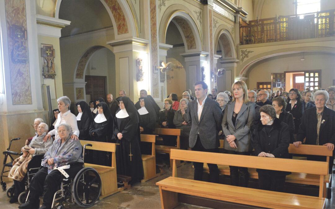 Adiós a las Hermanitas de los Ancianos  Desamparados en Xàtiva, tras 141 años  La residencia de San Antonio acoge una misa de acción de gracias