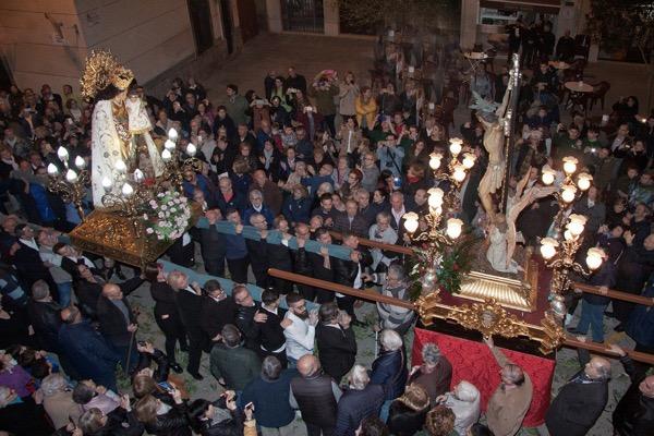 Visita Virgen Desamparados a Foios