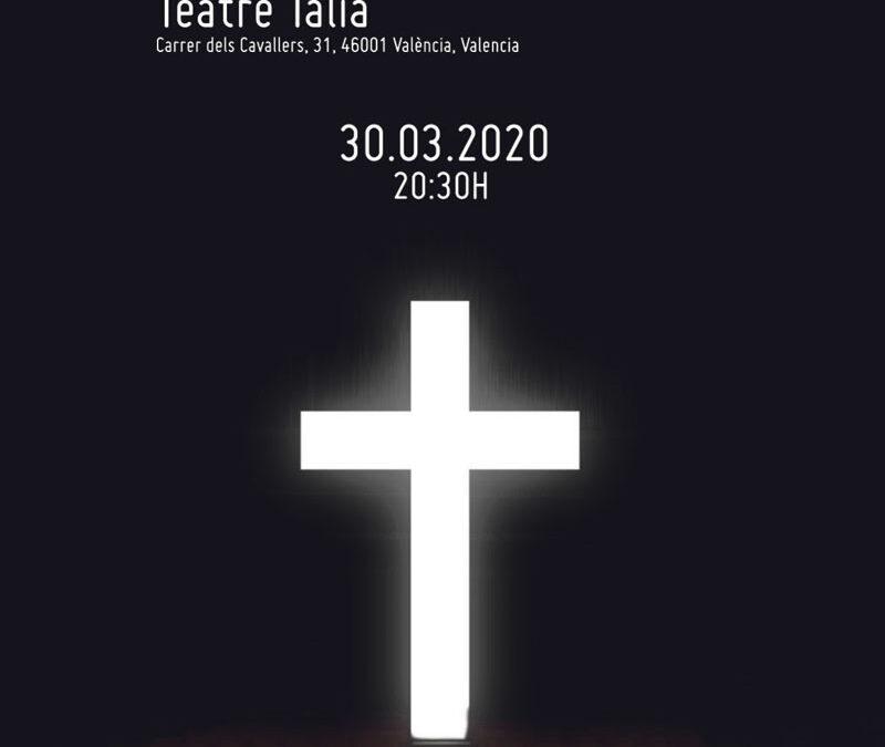 Hakuna pone voz y música a la Pasión de Cristo El próximo 30 de marzo a las 20:30 h. en el Teatro Talía