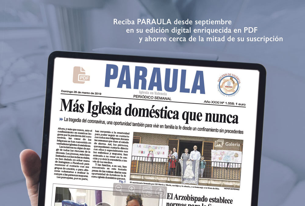 PARAULA se publicará en versión impresa y digital