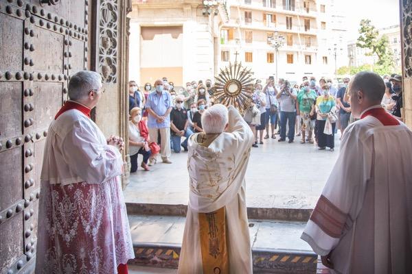 Solemnidad del Corpus Christi en la Catedral de Valencia 2020