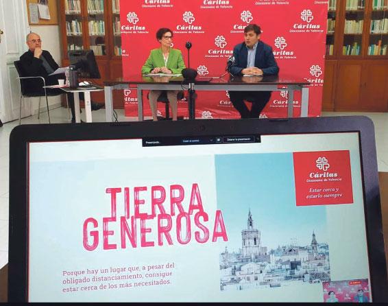 """Cáritas Valencia asiste a 12.000 familias en la pandemia, sobre todo por pérdida de empleo El 32% de ellas no había pedido ayuda antes y """"necesitarán atención mucho tiempo"""""""