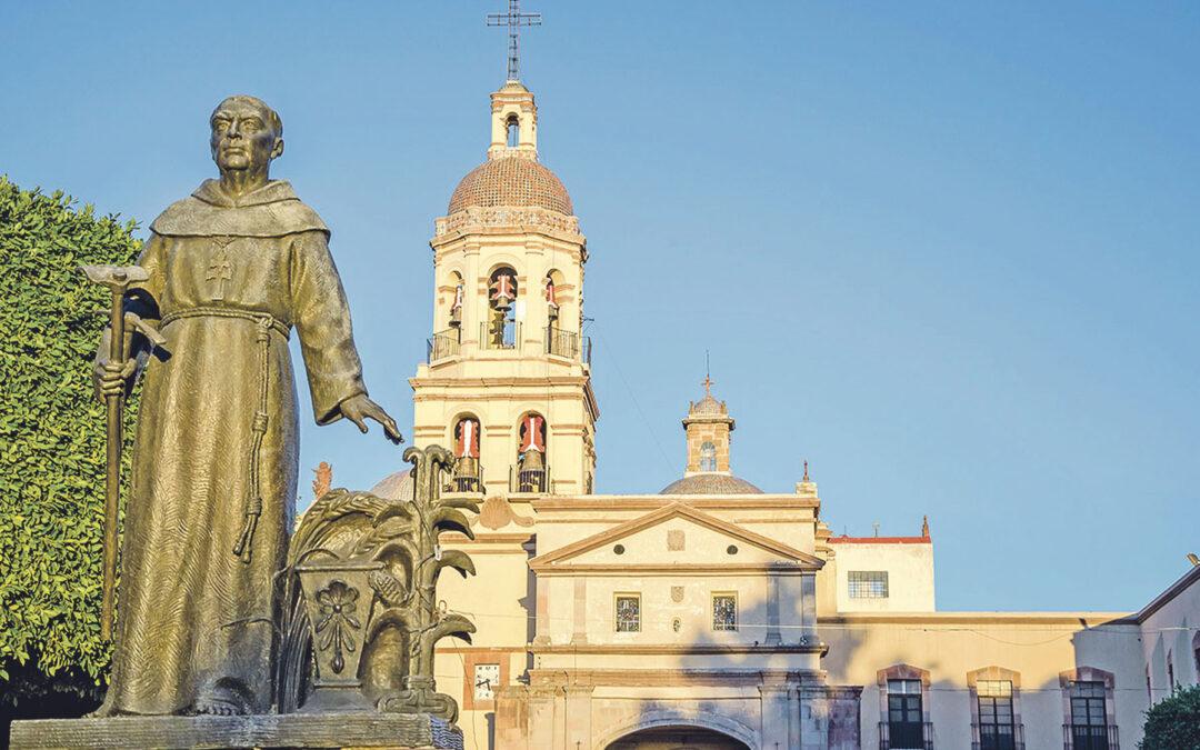 Un desconocido fraile de Valencia, venerado en Texas, donde fundó hace ahora 300 años una misión El franciscano Antonio Margil bautizó a 40.000 indígenas en Centroamérica
