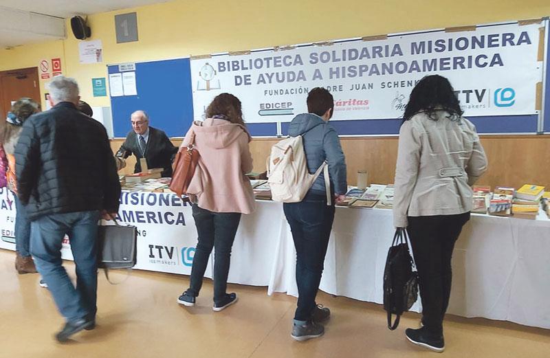 La Biblioteca Solidaria Misionera necesita  'coches solidarios' para trasladar libros  Prepara un envío a Perú con más de 38.700 libros donados y busca también voluntarios