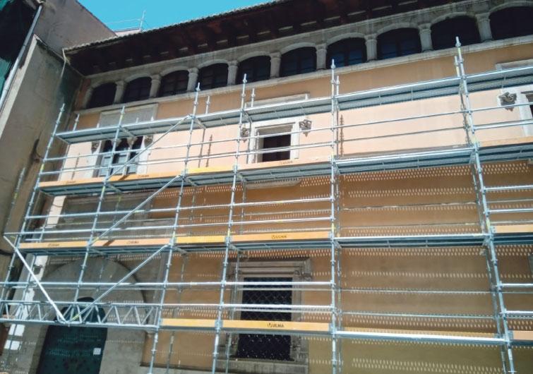 Comienza la restauración de la casa natalicia de S. Vicente FerrerEl 'pouet' será centro de difusión de la cultura vicentina