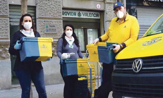 19 bebés de madres atendidas en Provida nacieron en el confinamiento Se han entregado un total de 260 lotes de alimentos con reparto a domicilio