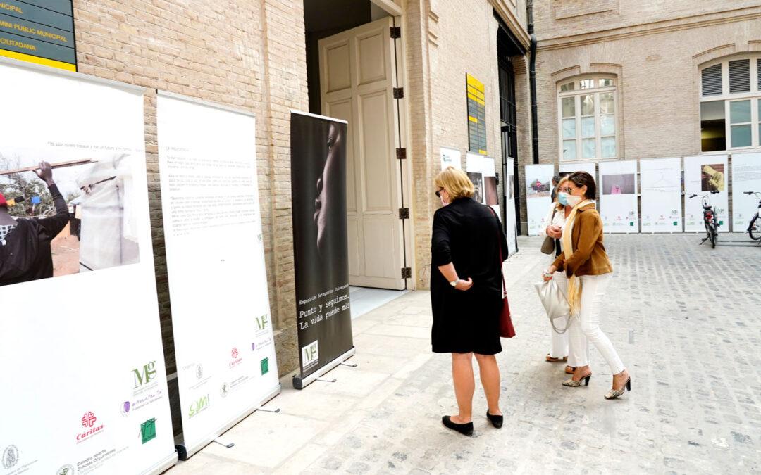 Una muestra fotográfica en Valencia remueve conciencias contra la trata El 23 de septiembre se celebraba el día internacional  contra la explotación  sexual y la trata de personas, promovido por la Conferencia Episcopal Española