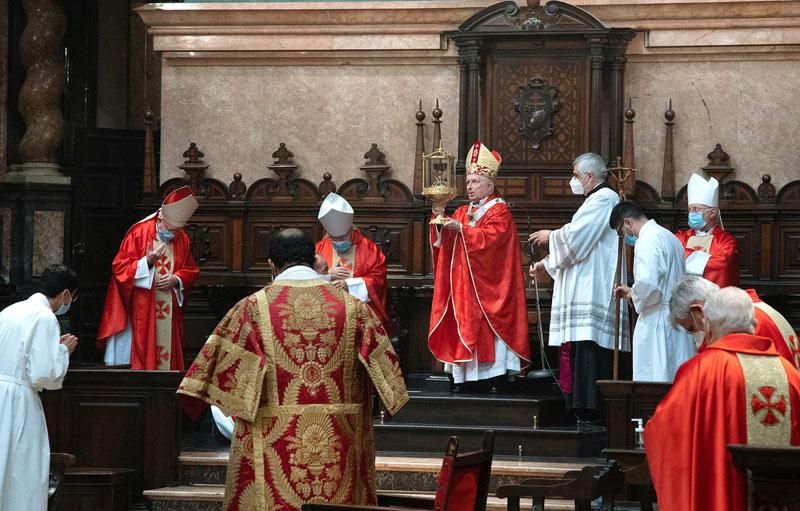 AÑO JUBILAR DEL SANTO CÁLIZ DE LA PASIÓN Homilía pronunciada por el Cardenal en la apertura del Año Santo del 'Cáliz de la Pasión'