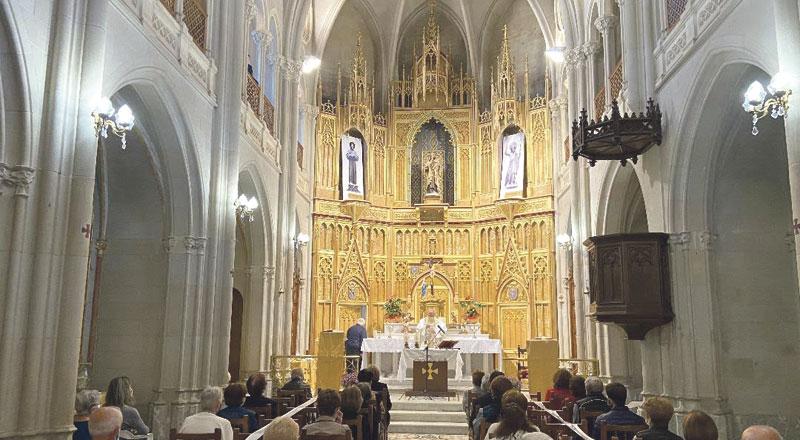 Una iglesia neogótica de Benigànim reabre al culto después de más de 50 añosTras varios meses de limpieza y restauración por la parroquia