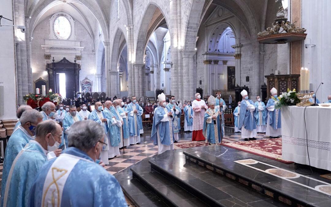 El Cardenal pide a María «la gracia de avanzar hacia el progreso sin traicionar nuestra identidad» Durante la misa que presidió en la catedral de Valencia con motivo de la solemnidad de la Inmaculada