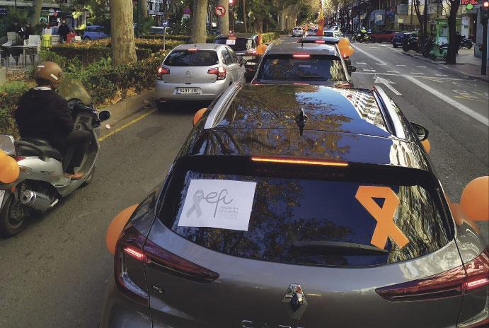 Miles de coches recorren el centro de Valencia contra la 'Ley Celaá' Éxito de la manifestación convocada por 'Más plurales'