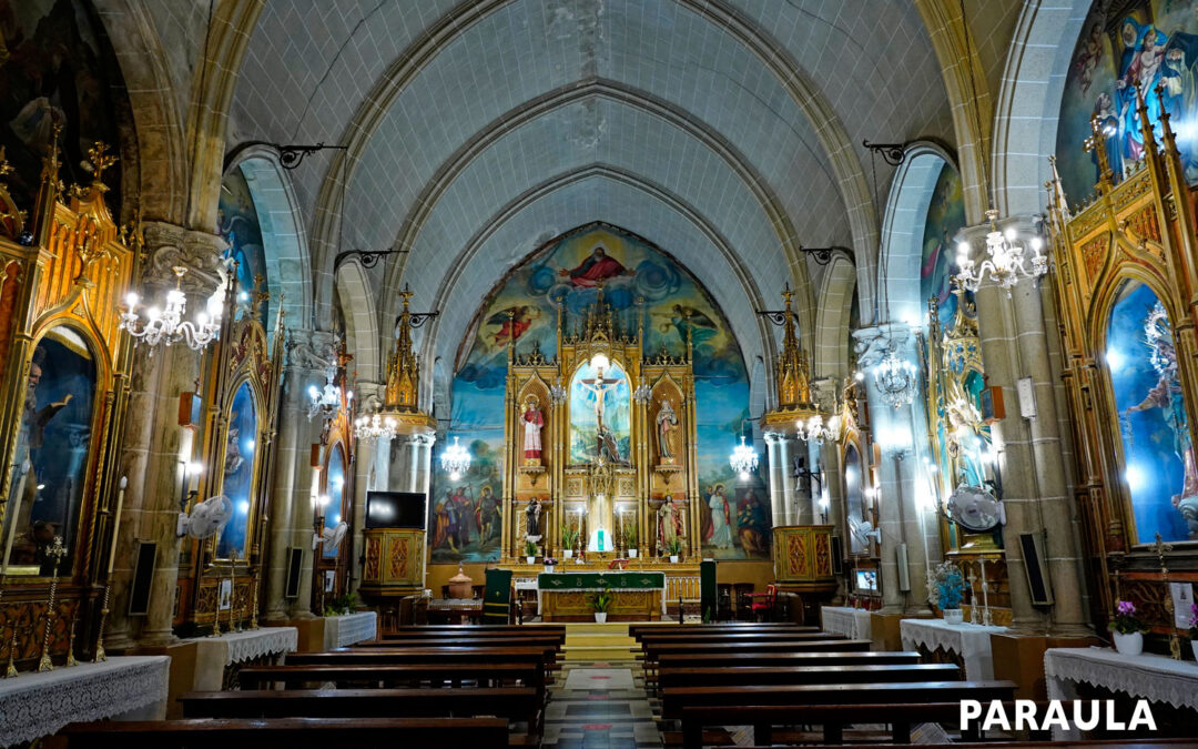 Devoción al Santísimo Cristo de la Agonía en mitad de la huerta valenciana Nuestra sección 'Casa de Dios' se desplaza hasta Horno de Alcedo