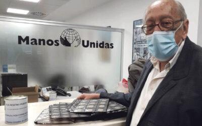 Manos Unidas prorroga su campaña de las pesetas hasta el mes de junio Al ampliar el Banco de España la fecha para su canjeo por euros