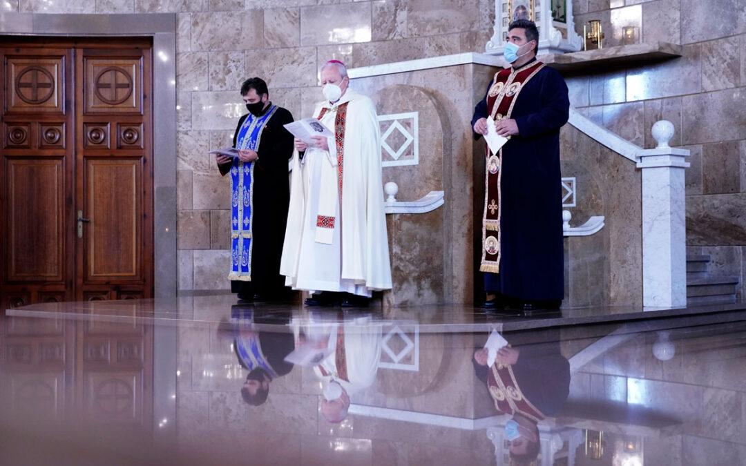Por la unión de la Iglesia  La pandemia marca las celebraciones de la Semana de  Oración por la Unidad de los Cristianos que concluye con una celebración ecuménica en el Seminario Mayor en Moncada