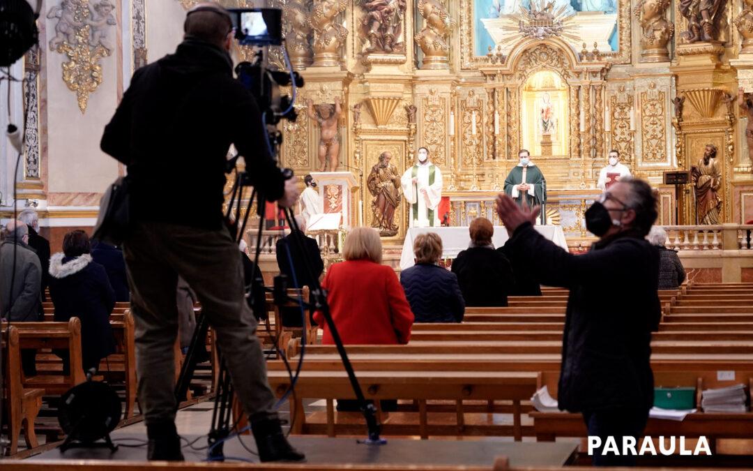 Cada domingo desde hace un año, misa en valenciano para toda la Comunitat À Punt la emite a las 10 h. desde La Asunción de Torrentl