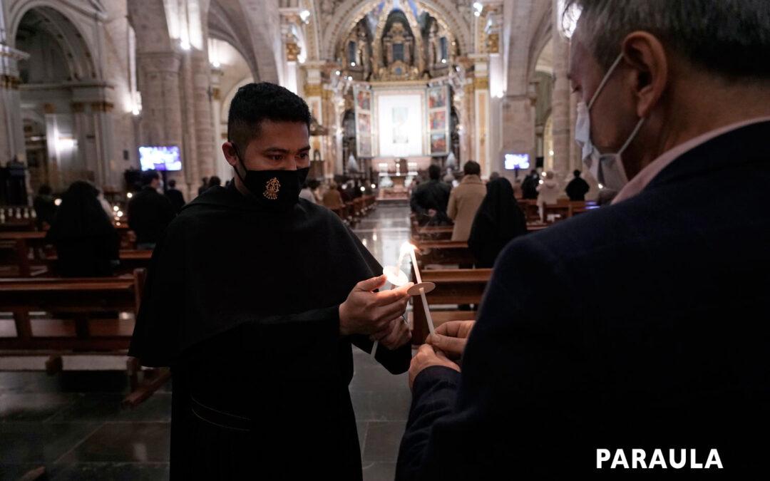 Alegría, gratitud y fraternidad en la Jornada de la Vida Consagrada en Valencia La misa en la Seo con aforo limitado por la pandemia fue presidida por el Cardenal