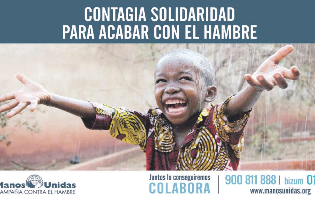 Urgencia ante la pandemia del hambre Manos Unidas lanza, apremiante, su campaña para 2021 al constatar que el coronavirus ha empeorado aún más la pobreza extrema en el mundo