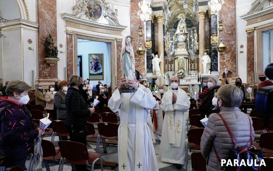 El Card. Cañizares alienta a evitar la «carencia de humanidad» con los enfermos En la misa en la Basílica, con motivo de la Jornada Mundial del Enfermo
