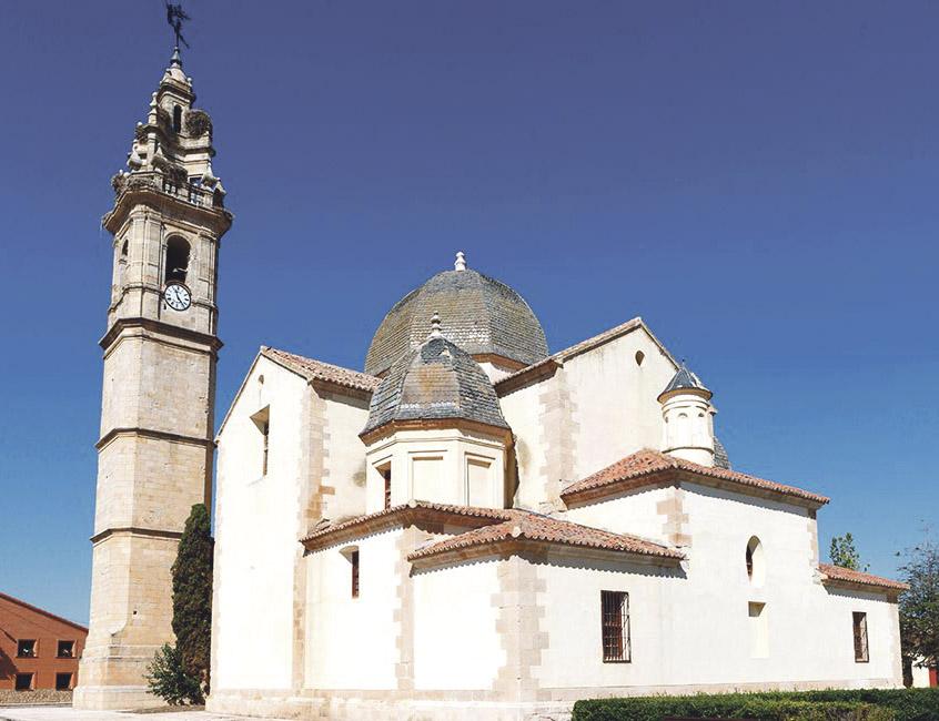 S.O.S. de una iglesia 'valenciana' del XVIII en Zamora a nuestros artistas para rehabilitarla La construyó en su pueblo natal, Molacillos, en estilo levantino el arzobispo de Valencia Andrés Mayoral