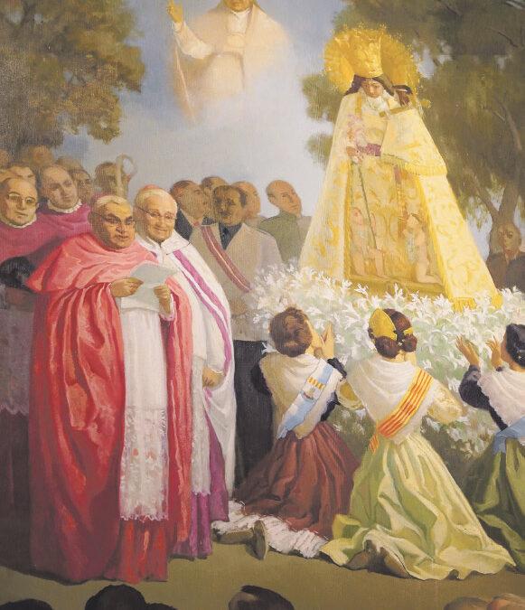 Felicitats Maredeueta! La Virgen de los Desamparados cumple ahora 60 años como 'Celestial Patrona principal ante Dios de toda la Región Valenciana', como la proclamó el papa san Juan XXIII el 10 de marzo de 1961. Así fue aquel acontecimiento