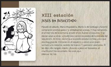 El Santo Cáliz para niños La delegación de Enseñanza elabora recursos didácticos de  primaria y secundaria para colegios y parroquias