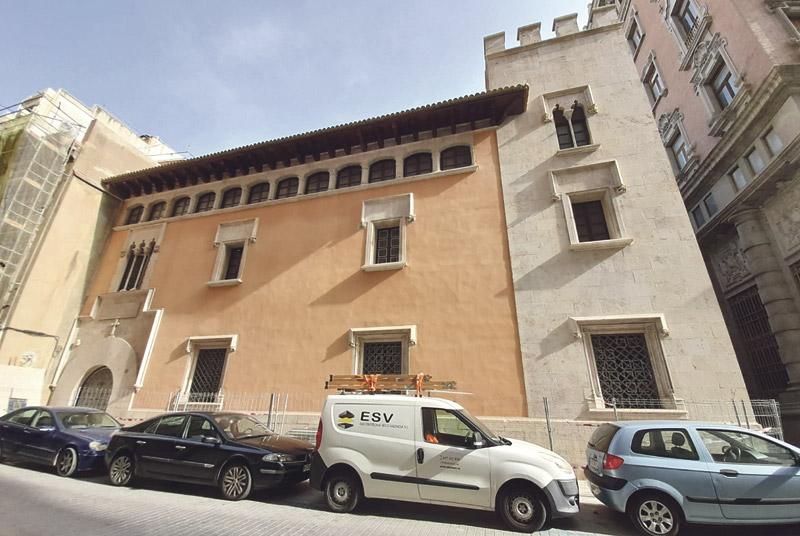 """La restauración de la casa natal de S. Vicente concluye este mes para reabrirla en mayo Las obras han sacado a la luz, entre otros elementos, unos """"azulejos antiquísimos"""""""
