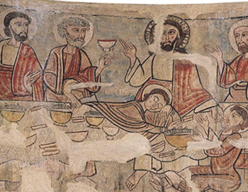 En busca de las lagunas históricas Un investigador valenciano halla la primera representación iconográfica que  se conoce sobre el Santo Cáliz de Valencia y la sitúa en el siglo X