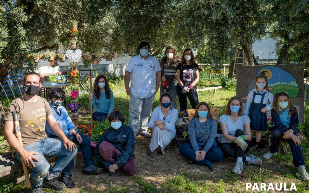 Un huerto escolar donde fomentar el amor a la 'casa común' Las Escuelas San José de Valencia promueven la Laudato si' a través de su 'hortet'