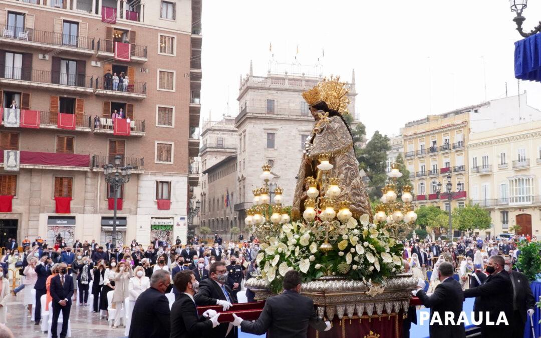 VIXCA LA MARE DELS MALALTS!!!  La fiesta de la Virgen, insólita por la pandemia, sí se pudo celebrar en la calle con todas las medidas sanitarias