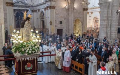 Con la 'Mareta' en sus corazones El Arzobispo agradece a los valencianos las muestras de cariño hacia la Mare de Déu durante el recorrido de la Peregrina por los pueblos