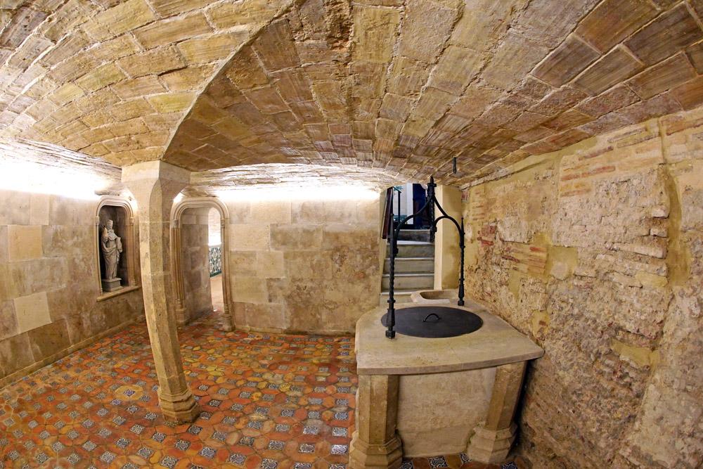 La casa natalicia de san Vicente Ferrer descubre sus estancias tras la restauración Abre sus puertas a partir del 1 de junio remozada y mostrando los hallazgos de las obras