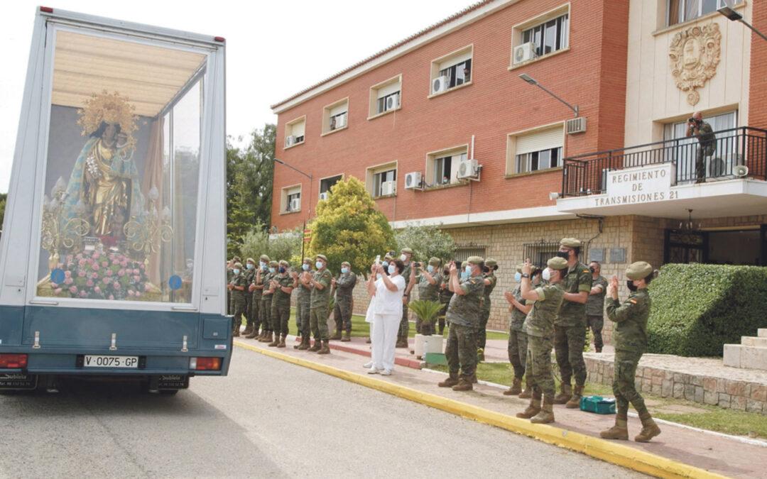 La Virgen concluye su recorrido por la diócesis tras visitar más de cien localidades  Durante diez días y más de 2.800 kilómetros