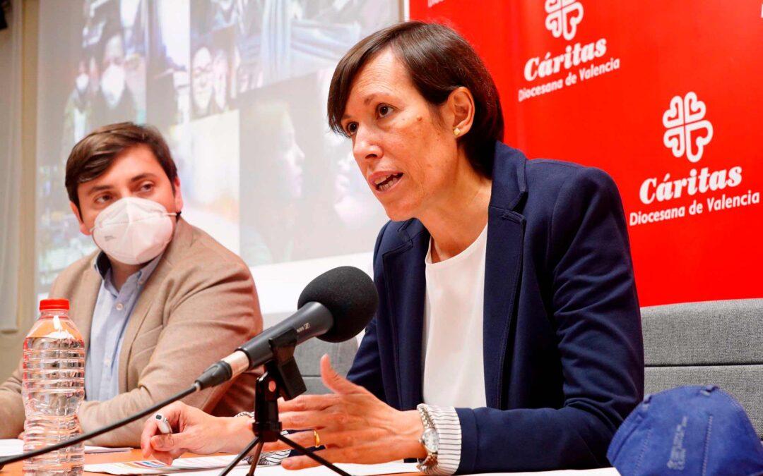 Crisis social sin precedentes: 62.000 personas atendidas por Cáritas Valencia en 2020 Destina 8 millones a proyectos sociales tras disparar la pandemia un 27% las peticiones