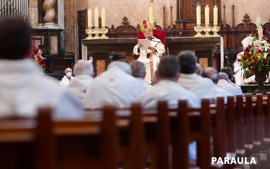 SACERDOTE, UNA TAREA Y MISIÓN IMPRESCINDIBLE Carta semanal del cardenal arzobispo de Valencia, Antonio Cañizares