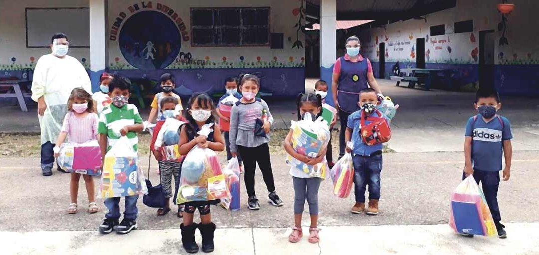 Manos Unidas Ontinyent mejora el colegio y la nutrición de 700 niños pobres en Honduras Su Ayuntamiento ha aportado un donativo a la campaña de 15.000 euros