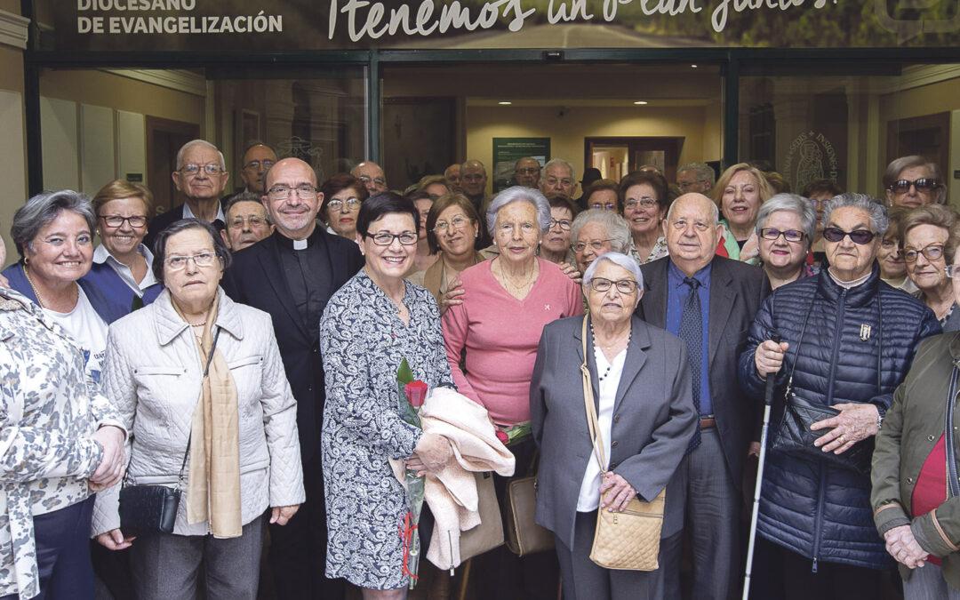Atención pastoral, encuentros charlas y amistadVida Ascendente, el movimiento de apostolado seglar que aglutina a mas de 1.200 jubilados y mayores de la diócesis