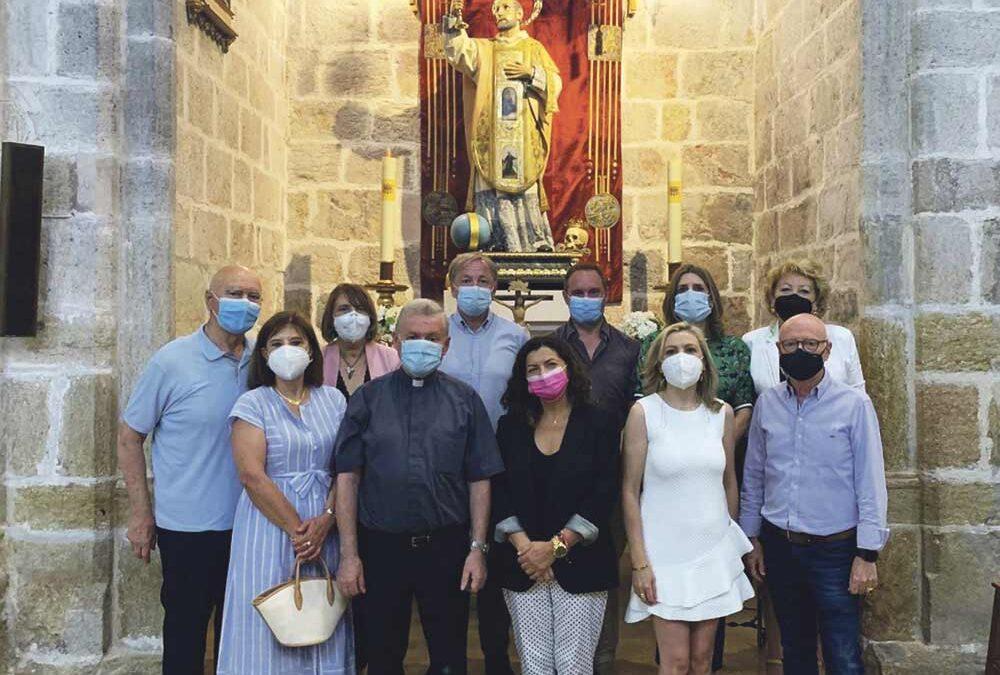 Comienzan los preparativos del Año Jubilar de S. Francisco de Borja El Círculo de Amigos del santo visita la colegiata de Gandía