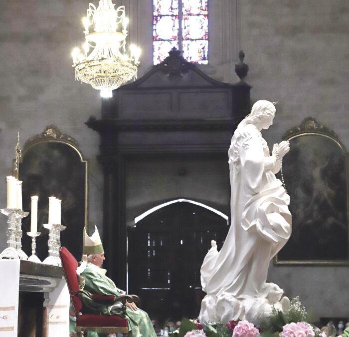 DESPEDIDA DE LA VIRGEN Carta semanal del cardenal arzobispo de Valencia, Antonio Cañizares
