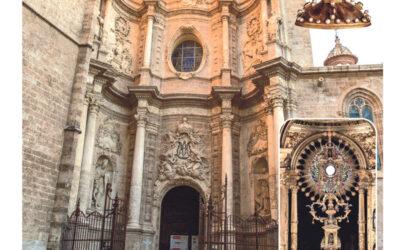 Este fin de semana, Valencia será capital nacional de la Adoración Nocturna Toques especiales de campanas acompañarán la procesión eucarística por las calles del centro de la ciudad