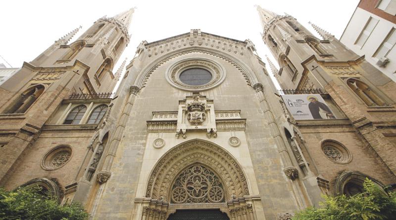 Basílica de San Vicente Ferrer: una joya de 100 años El templo de los Dominicos en Valencia conmemora este 12 de octubre con una misa su consagración el 12 de octubre de 1921